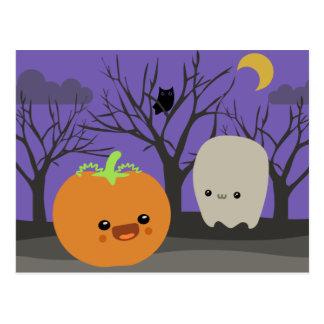 Halloweenies Postcard