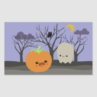 Halloweenies Rectangular Sticker