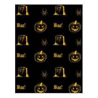 halloweeny postcard