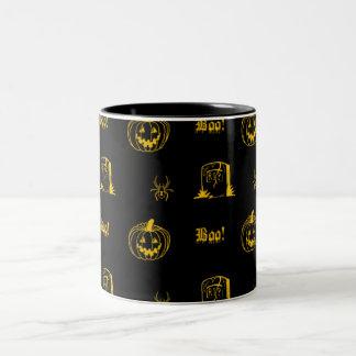 halloweeny Two-Tone coffee mug