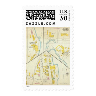Hallowell, Kennebec County, and Maine 3 Postage