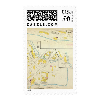 Hallowell, Kennebec County, and Maine 4 Postage
