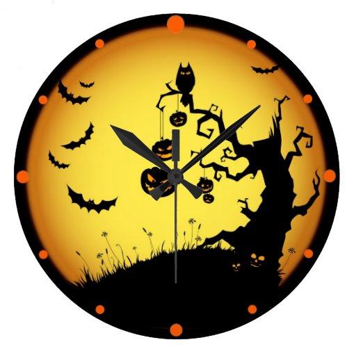 Hallowen Clock
