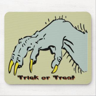 Hallowen Creepy Hand Mouse Pad