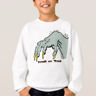 Hallowen Creepy Hand Sweatshirt
