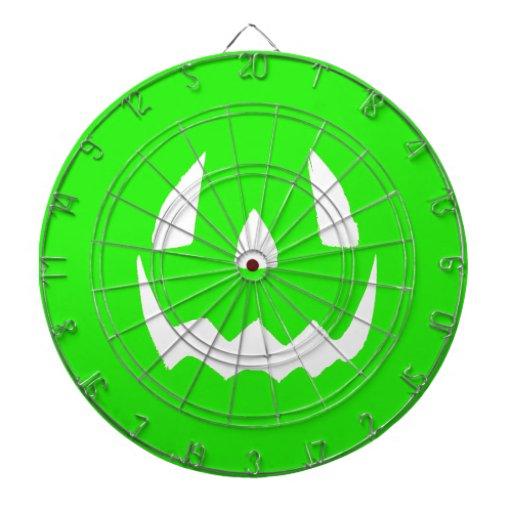 Hallowgreen feliz tablero dardos