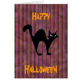 Hallowin wishes greeting card