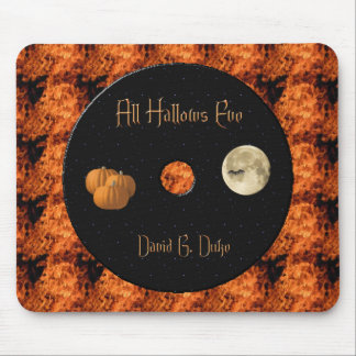 Hallows Disk lable Mouse Pad