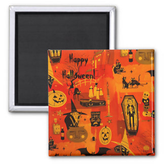 Hallows Eve 2 Inch Square Magnet