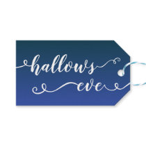 Hallows Eve Handwritten Gift Tags