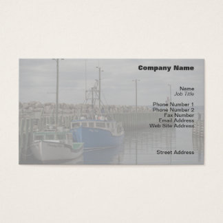 Hall's Harbour Boats Profile Card