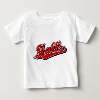 Hall's in Red Baby T-Shirt