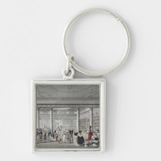 Hall's Library at Margate, 1789 Keychain