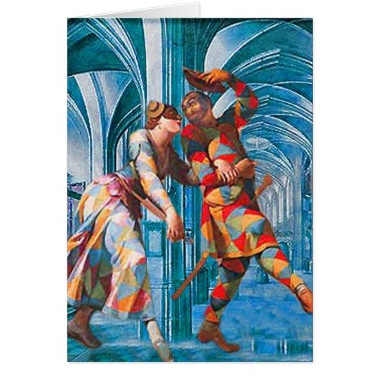 HALLS OF FROLIC CARD