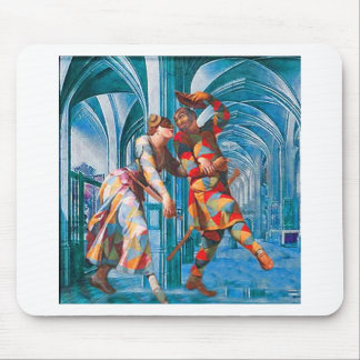 HALLS OF FROLIC MOUSE PAD