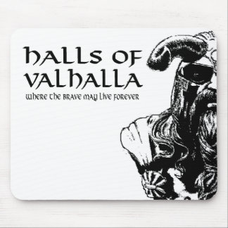 Halls Of Valhalla Mousepad