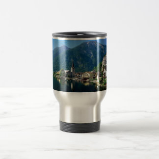 Hallstatt Austria 15 Oz Stainless Steel Travel Mug