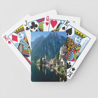 Hallstatt Austria Bicycle Playing Cards
