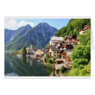 Hallstatt, Austria Card