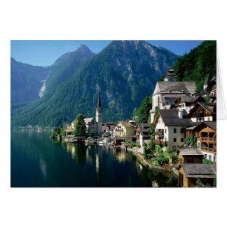 Hallstatt Austria Card