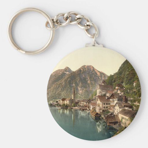Hallstatt Austria Keychain