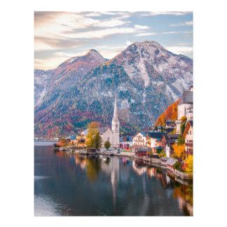 Hallstatt, Austria Letterhead