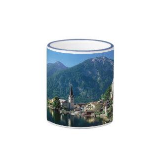 Hallstatt Austria Ringer Coffee Mug