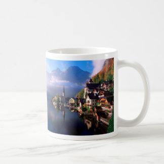 Hallstatt Classic White Coffee Mug