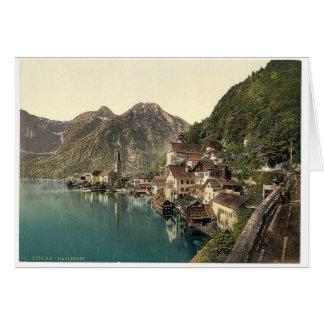 Hallstatt, Upper Austria, Austro-Hungary Card