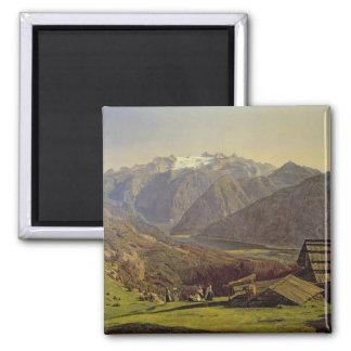 Hallstatter-See (oil on canvas) Magnet