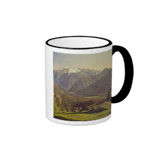 Hallstatter-See (oil on canvas) Ringer Coffee Mug