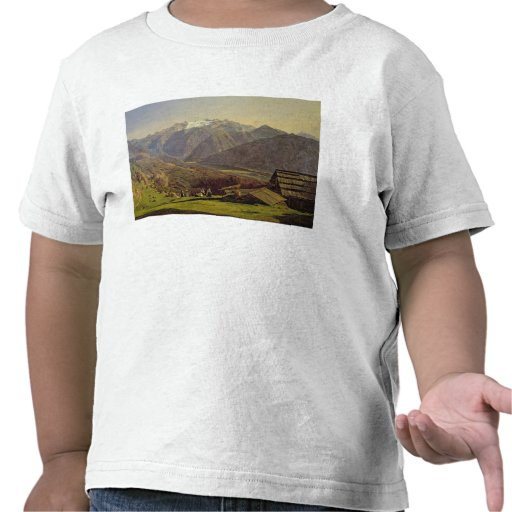 Hallstatter-See (oil on canvas) Shirts