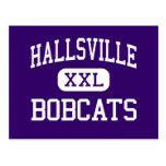 Hallsville - linces - alto - Hallsville Tejas Postal