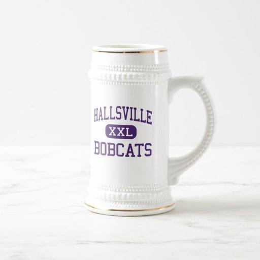 Hallsville - linces - alto - Hallsville Tejas Taza De Café