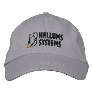 Hallums Systems Grey Cap