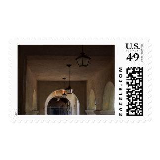 Hallway In Balboa Park Postage
