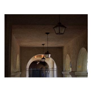 Hallway In Balboa Park Postcard