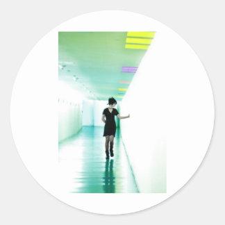 Hallway of Dreams 02 Classic Round Sticker