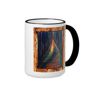 Hallway To The Executioner Ringer Coffee Mug