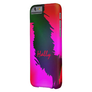 Hally Green and Pink iPhone case