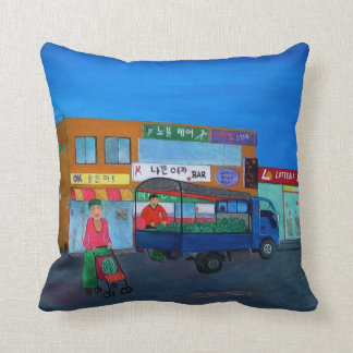 Halmoni's Baby ( Korean Grandmother) Throw Pillow
