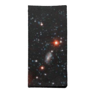 Halo de la galaxia del Andromeda del andromeda Servilletas Imprimidas