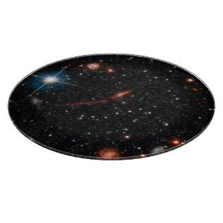 Halo de la galaxia del Andromeda del andromeda Tablas Para Cortar