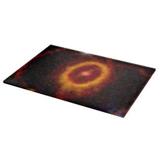 Halo de la supernova para una estrella tablas para cortar