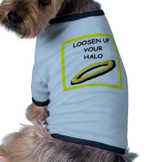 halo doggie tee shirt