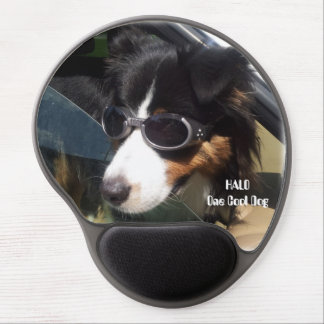 ¡HALO, él es un perro fresco! Alfombrilla De Raton Con Gel
