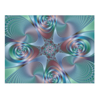Halo - fractal postal