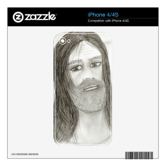 Halo Jesus iPhone 4 Decal