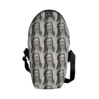 Halo Jesus Messenger Bag