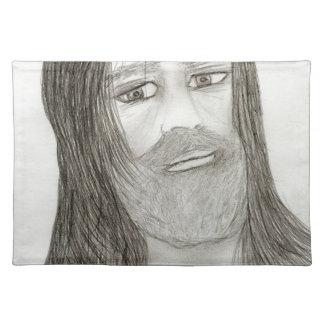 Halo Jesus Placemat